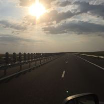 Ungarn = flache Autobahn